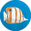 fish, food, kitchen, meal, sea, seafood, tropical icon