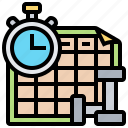 calendar, planning, program, record, schedule icon