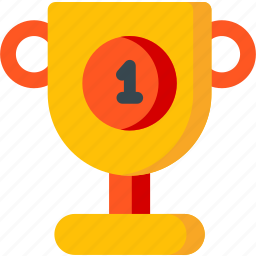award, cup, medal, prize, shape, trophy, winner icon
