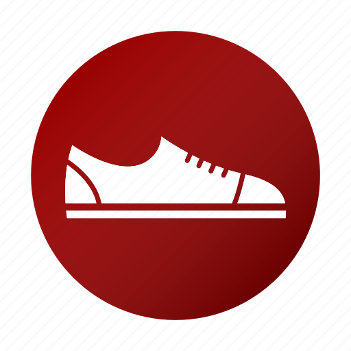 exercise, shoes, sports icon