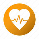 beat, health, healthcare, heart, heartbeat icon