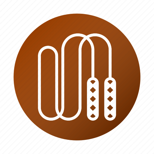 exercise, fitness, jump rope, jumping icon