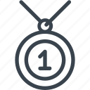 award, award medal, gold medal, medal icon icon