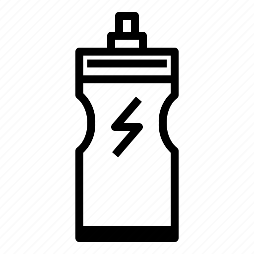 bottle, drink, energy, fitness, hydratation icon