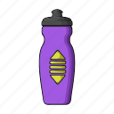 bottle, drink, equipment, fitness, gym, thirst, water icon