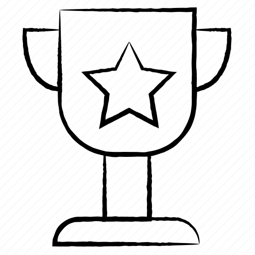 award, cup, medical, star icon