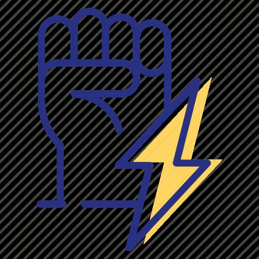 energy, power, strength icon