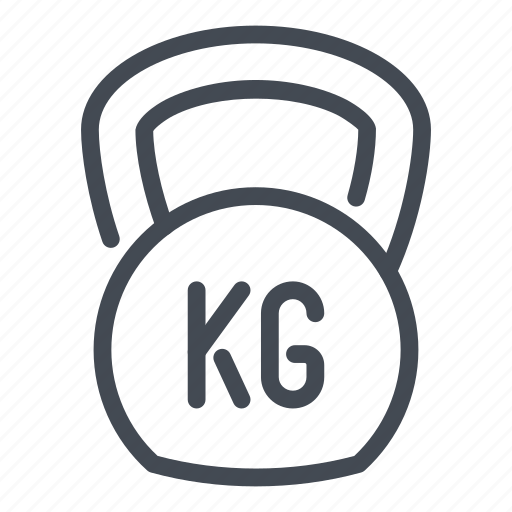 Fitness, gym, kettlebell, sport, training, weight icon - Download on Iconfinder