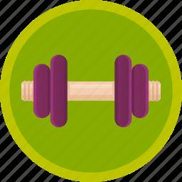 dumbbell, exercise, fitness, gym, sport, strength, training icon