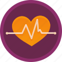cardiac, care, fitness, health, healthcare, heart, pulse icon