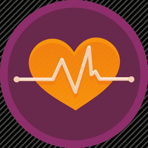 cardiac, care, fitness, health, healthcare, heart, pulse icon