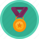 achievement, challenge, medal, sport, winner icon
