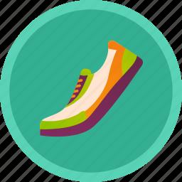 gym, jog, run, running, shoe, sport icon