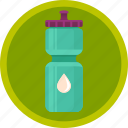 bottle, drink, fitness, sport, water icon