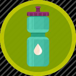 bottle, drink, fitness, sport, water icon