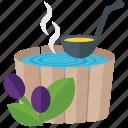 ayurvedic, herbal medicine, herbal spa, herbal treatment, home remedy, natural medicine icon