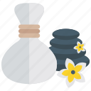 aromatherapy, fragrance, massage therapy, spa services, spa treatment icon