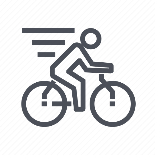bicycle, cycling, equipment, sport, sports icon