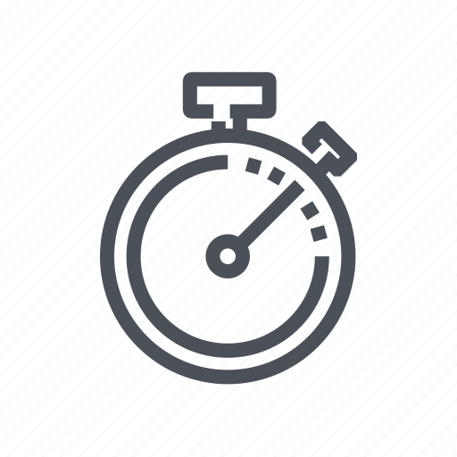 chronometer, stopwatch, timepiece, timer, watch icon