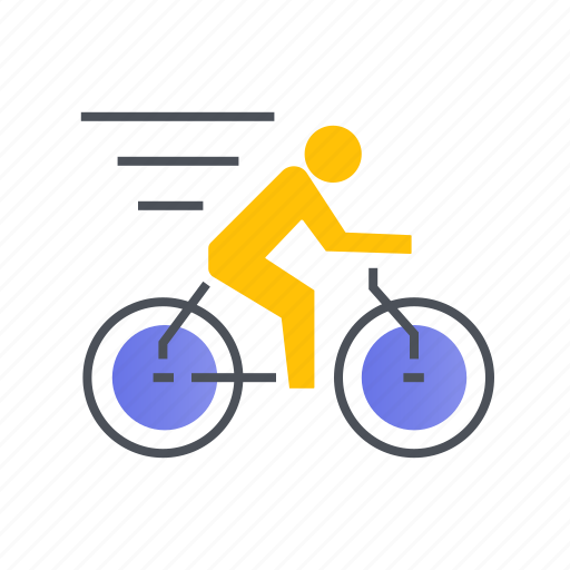 bicycle, cycling, equipment, sport icon