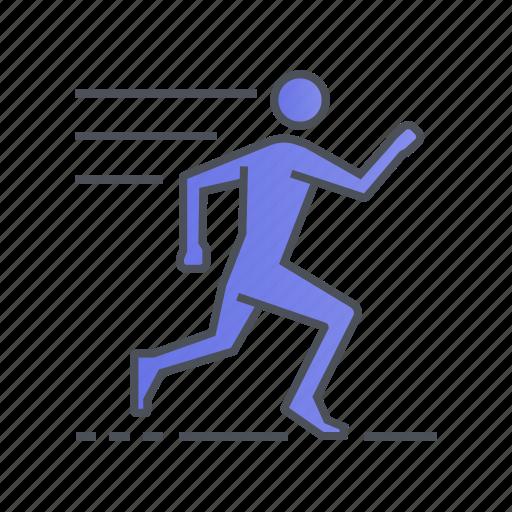 exercise, fitness, running, sport, training icon