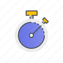 clock, speed, stopwatch, time, timer icon