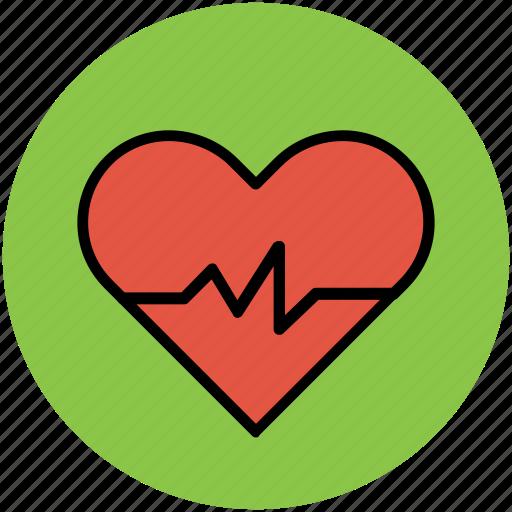 heart, heart lifeline, heart pulse, heart rate, heartbeat, lifeline icon