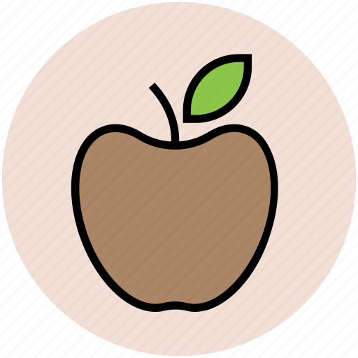 apple, diet, food, fruit, healthy diet, nutrition, organic icon