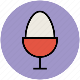 egg cup, egg holder, egg platter, egg server, kitchen accessories, tableware icon