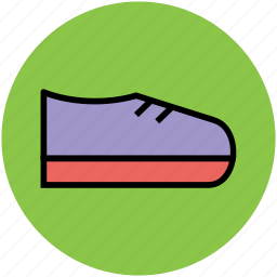 athlete shoes, footwear, shoes, sports shoes, trainers shoes icon