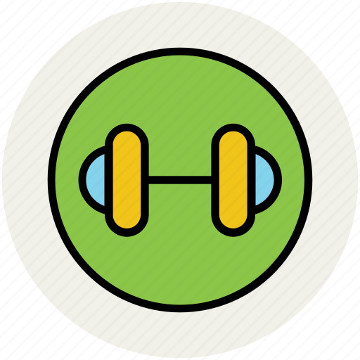 barbell, bodybuilding, dumbbell, exercise, halteres, weightlifting icon