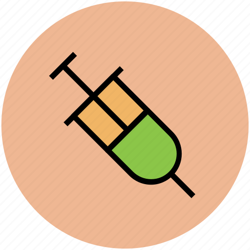 injecting, injection, medical treatment, syringe, vaccination, vaccine icon