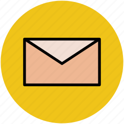 envelope, letter, mail, post icon