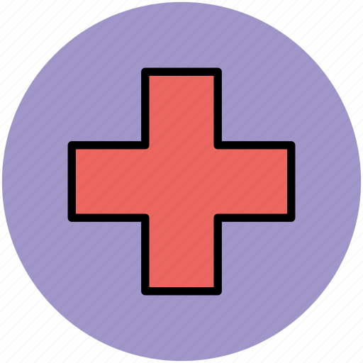 first aid, healthcare, hospital sign, medical aid, medical plus icon