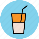 beverage, cold drink, drink, glass, juice, lemonade, soft drink icon