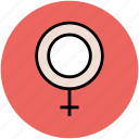 female gender, gender sign, gender symbol, sex symbol, woman gender icon