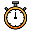 counter, fitness, stopwatch, time, timer icon