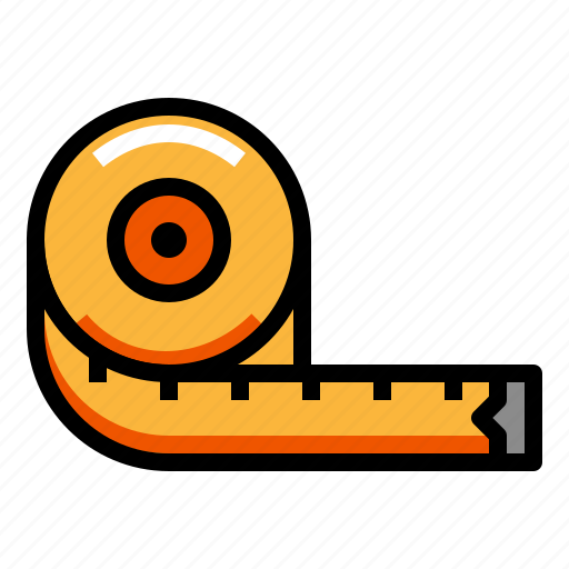 fitness, gym, healthy, measure, measurement icon