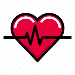 beat, fitness, healthy, heartbeat, heartcare icon