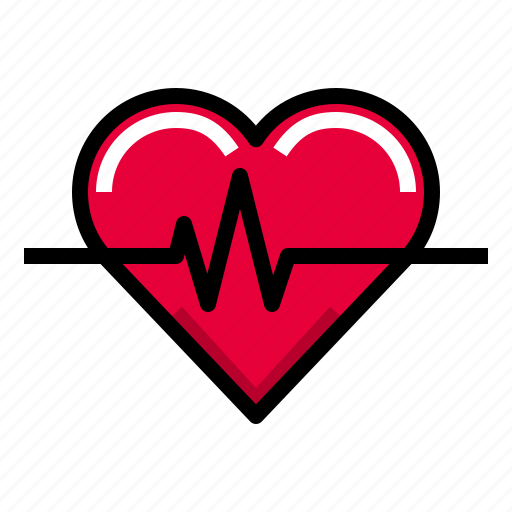 Beat, fitness, healthy, heartbeat, heartcare icon - Download on Iconfinder