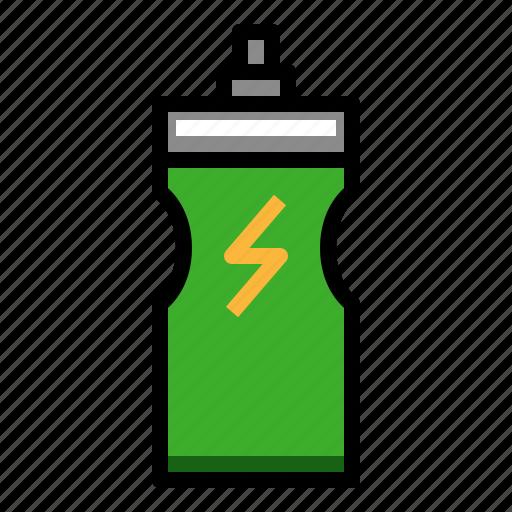 bottle, drink, energy, fitness, hydratation icon