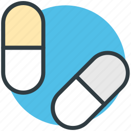 capsules, drugs, medical pills, medicines, tablets icon
