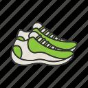 fitness, footwear, shoes, sneakers, sport, sportswear, workout icon