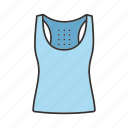 clothes, fitness, sportwear, t-shirt, tank, top, workout icon