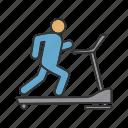 cardio, exercise, fitness, gym, run, treadmill, workout