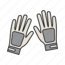 accessory, bike, fitness, gloves, hand, protection, sportswear icon