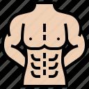 abs, bodybuilder, lean, muscular, strong