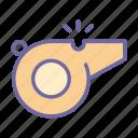 whistle, sport, equipment, judge, signal