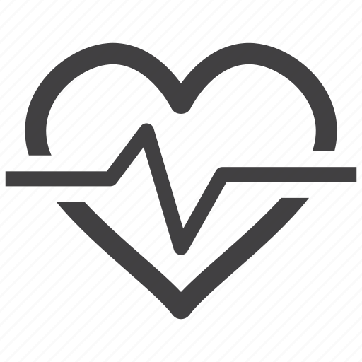 beat, ecg, ekg, heart, pulsation, pulse, rate icon