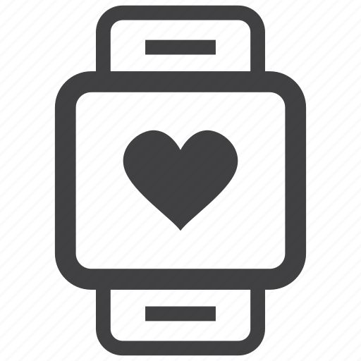 Fitband, health, heart beat, smart, technology, watch icon - Download on Iconfinder